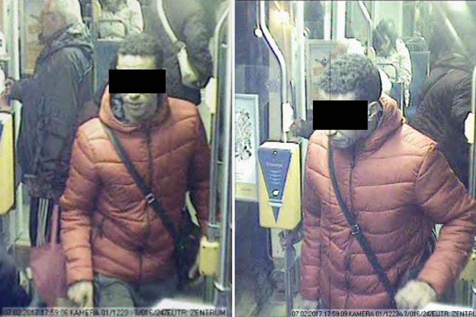 Mit Aufnahmen einer Überwachungskamera suchte die Polizei nach dem mutmaßlichen Sex-Täter von Eutritzsch.