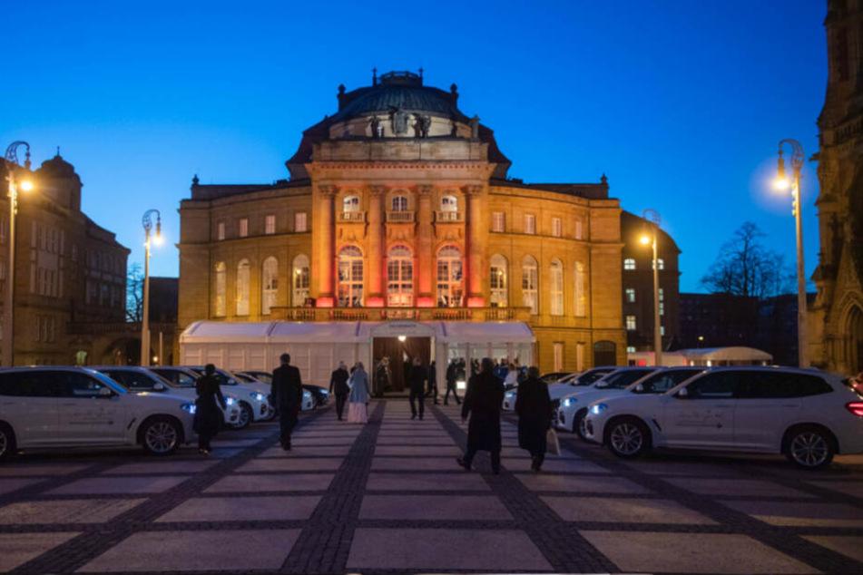 Die Oper in Chemnitz.