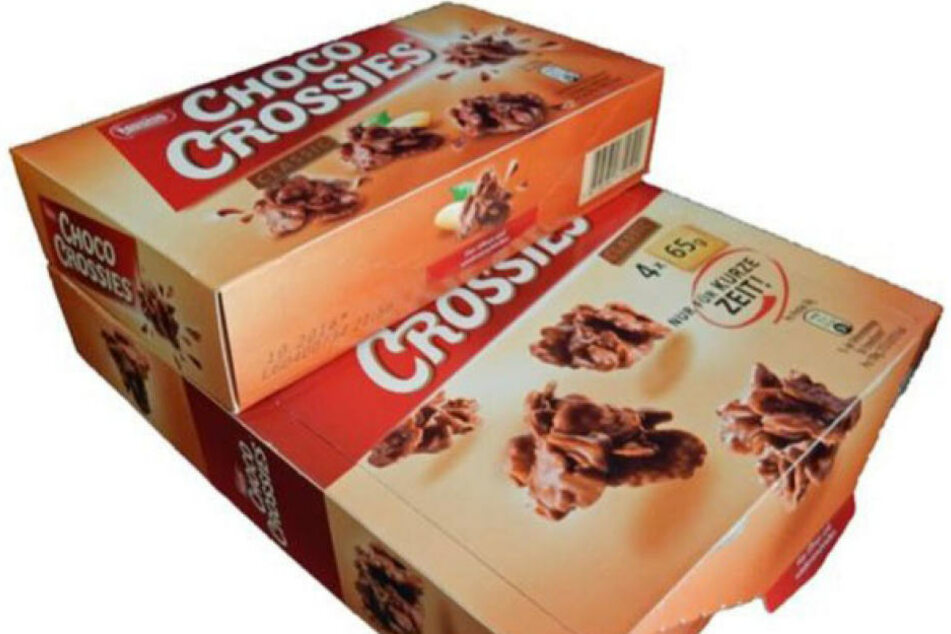 Hersteller Nestlé trickst bei seinen Choco Crossies...
