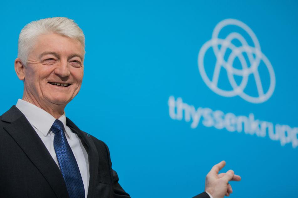 Der damalige ThyssenKrupp-Vorstandsvorsitzende HeinrichHiesinger.