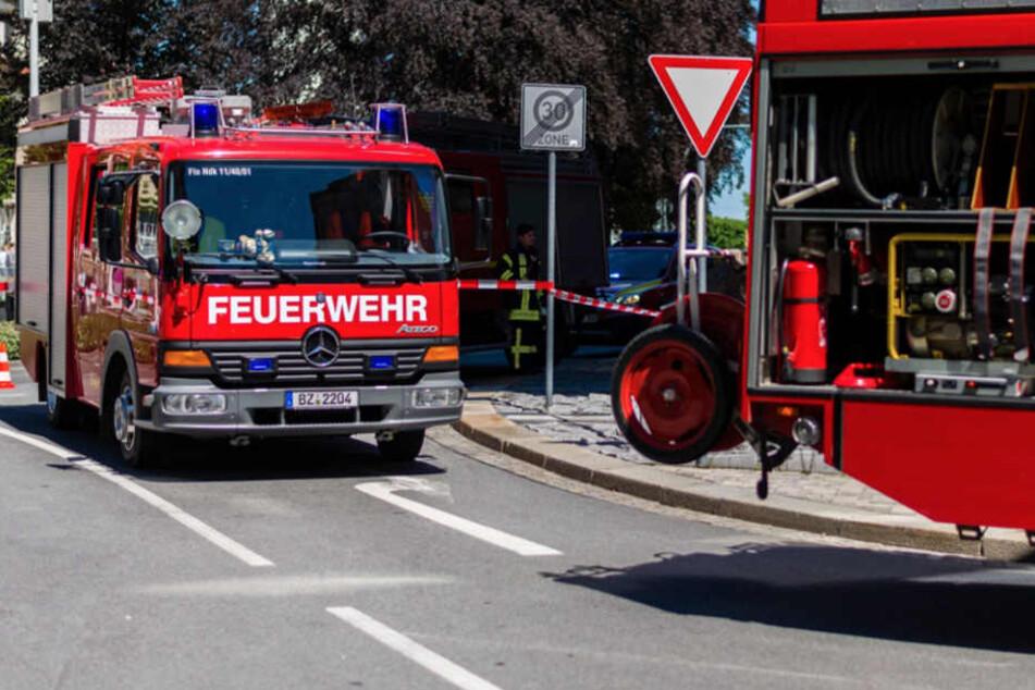 Gegen 11.30 Uhr ging der Alarm bei der Bautzner Feuerwehr ein.