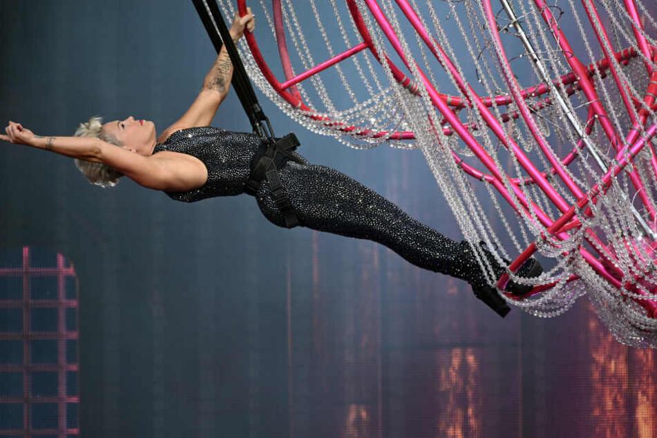 Pink bei einem der zwei Konzertabende in Köln.