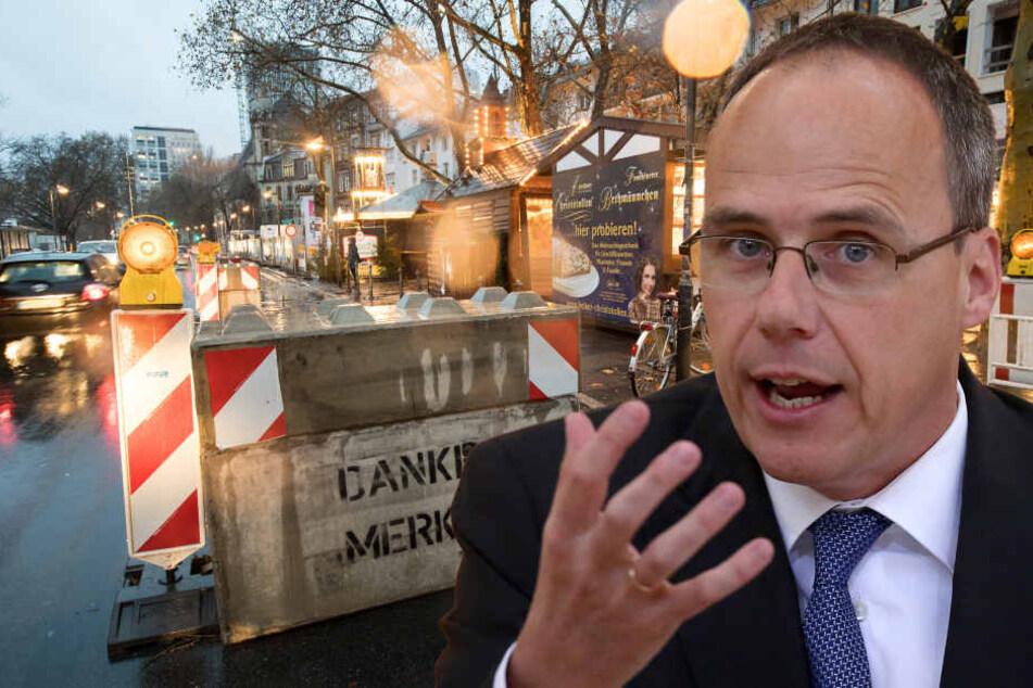 So will Hessens Innenminister die Städte dauerhaft vor Terror schützen