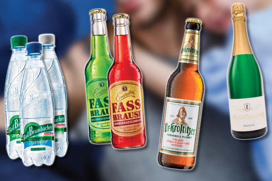 Diese Getränke sind gerade im Angebot.