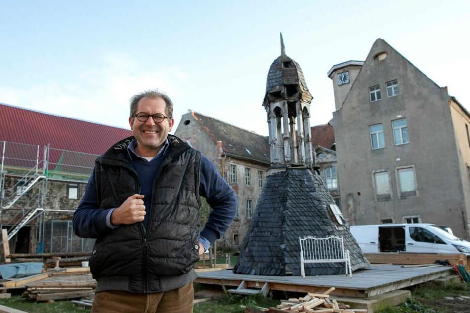 Schlossverwalter Wolf-Nicol von Wolffersdorff (50) freut sich über die prominente Unterstützung.