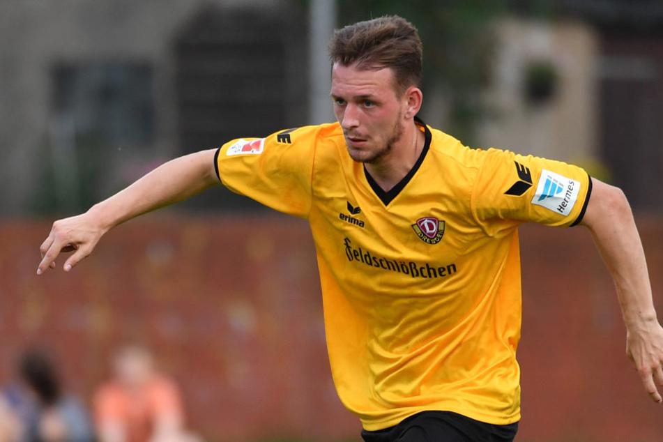 Marc Wachs ist wieder in Dresden und soll bei Dynamo nun behutsam aufgebaut werden.