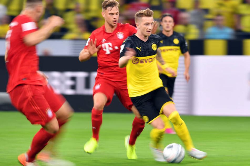 Marco Reus und der BVB lieferten sich mit dem FC Bayern einen Schlagabtausch.