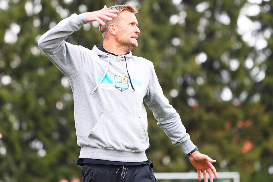 CFC-Coach David Bergner hatte reichlich Grund, sich an der Seitenlinie aufzuregen.