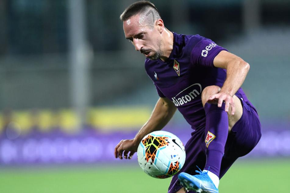 Franck Ribéry ist zufrieden in Florenz.
