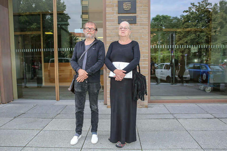 Uwe Piller (64) und Sigrid Körner (62) wurden am Mittwoch im Amtsgericht verurteilt.