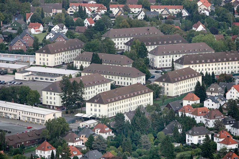 Fünf der Gebäude sollten für den Bildungscampus um- und ausgebaut werden.