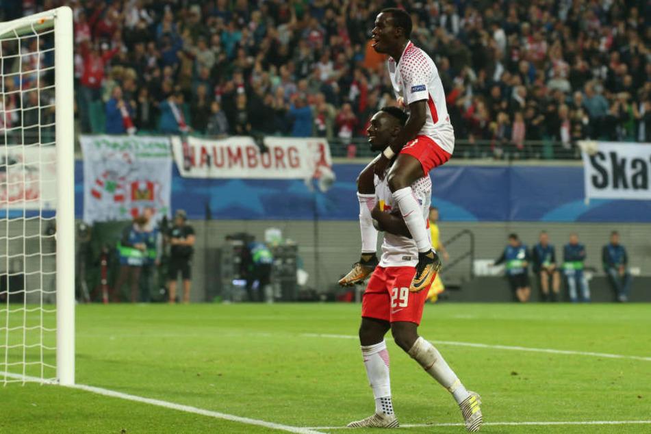 Der Höhenflug hält an: RB Leipzig knüpfte nahtlos an die Leistung beim 3:2 in Dortmund an und schlug den FC Porto.