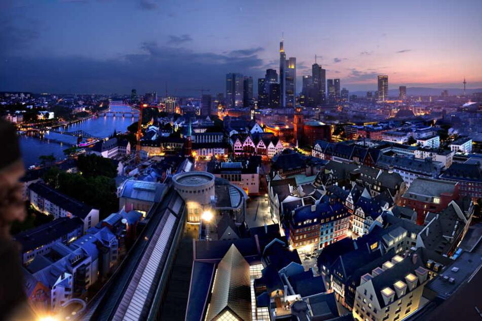 Atemberaubend: Der Blick über die rekonstruierte Frankfurter Altstadt.