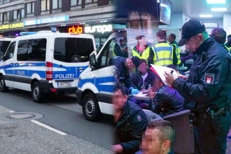 Razzia! Polizei durchsucht Einbrecher-Treffpunkt
