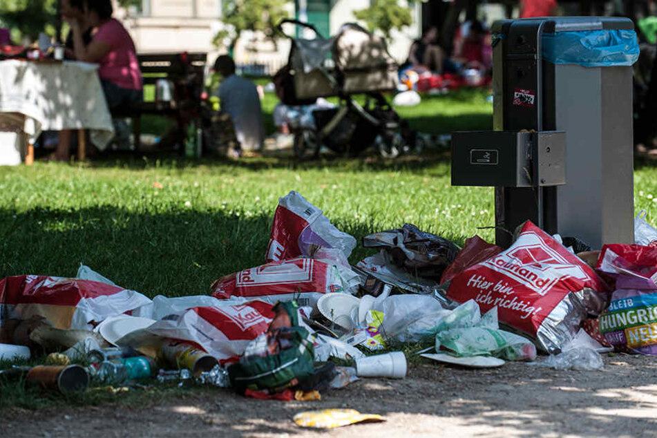 Die Stadtverwaltung hat enorme Probleme mit dem illegalen Müll (Symbolbild).
