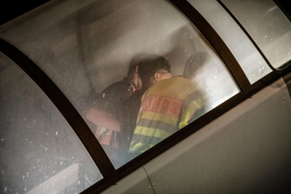 45 Afghanen wurden am Mittwoch vom Flughafen Halle/Leipzig nach Kabul geflogen.