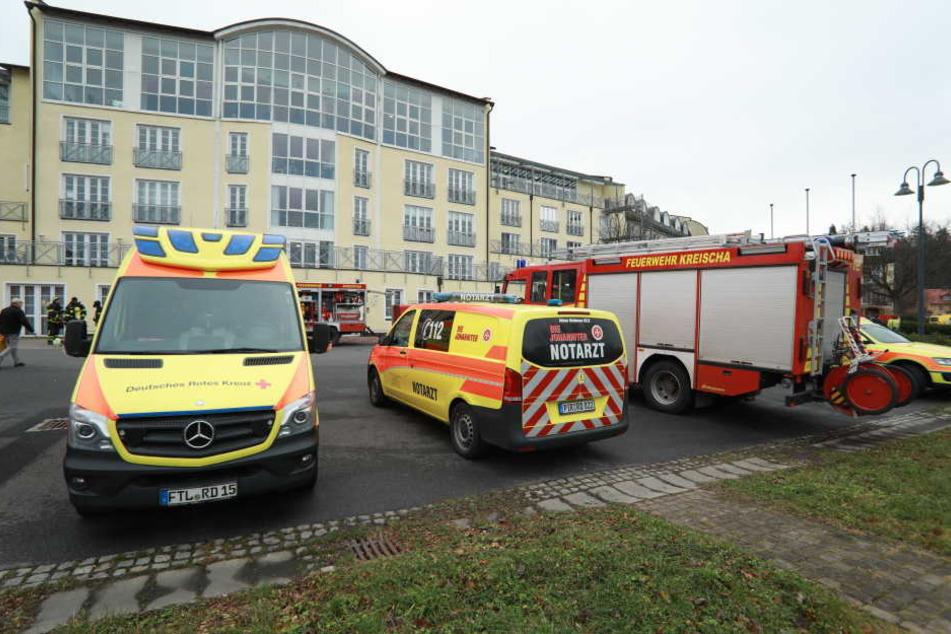 30 Personen wurden evakuiert.