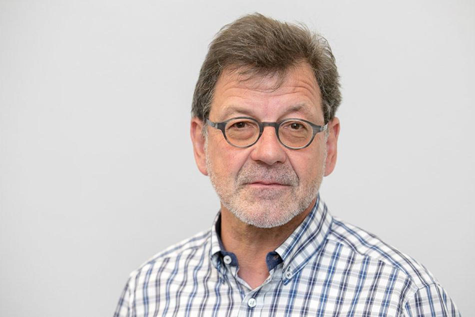 Reinhard Koettnitz (62), Straßen und Tiefbauamts-Chef.