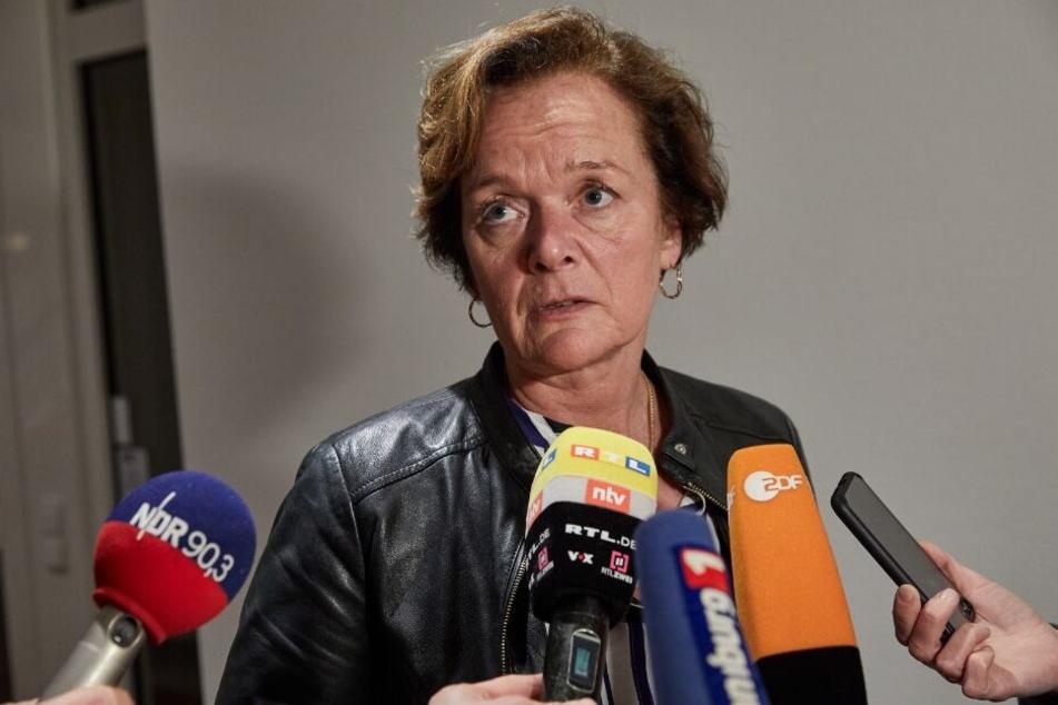 Anna von Treuenfels-Frowein gibt ein Interview. Die FDP schaffte es nach Behebung der Wahl-Panne doch nicht in die Bürgerschaft.