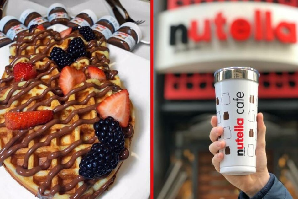 Hamburg: Schoki-Fans, aufgepasst: Hier eröffnet bald ein Nutella-Café!