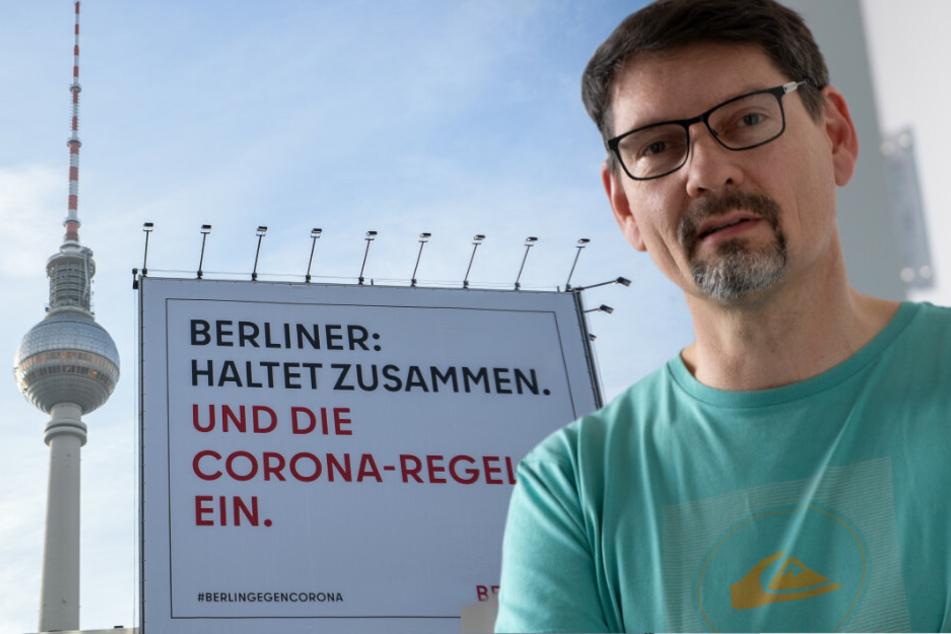 Patrick Larscheid, Amtsarzt im Berliner Bezirk Reinickendorf, hält einen Lockdown bis zum Frühjahr für notwendig, um das Coronavirus wieder einzudämmen.