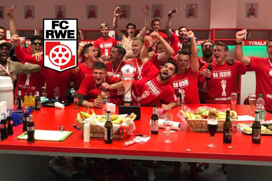 Nach dem Sieg - Bangen beim FC RWE: Wird's nichts mit der Ligalizenz?