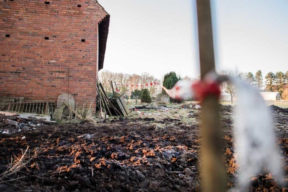 Auf einem Hof in Hille wurde auch die Leiche des Familienvaters gefunden.