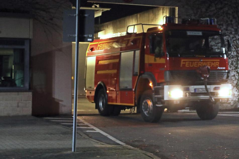 Feuer in Dresdner JVA: Häftling setzt Zelle in Brand!