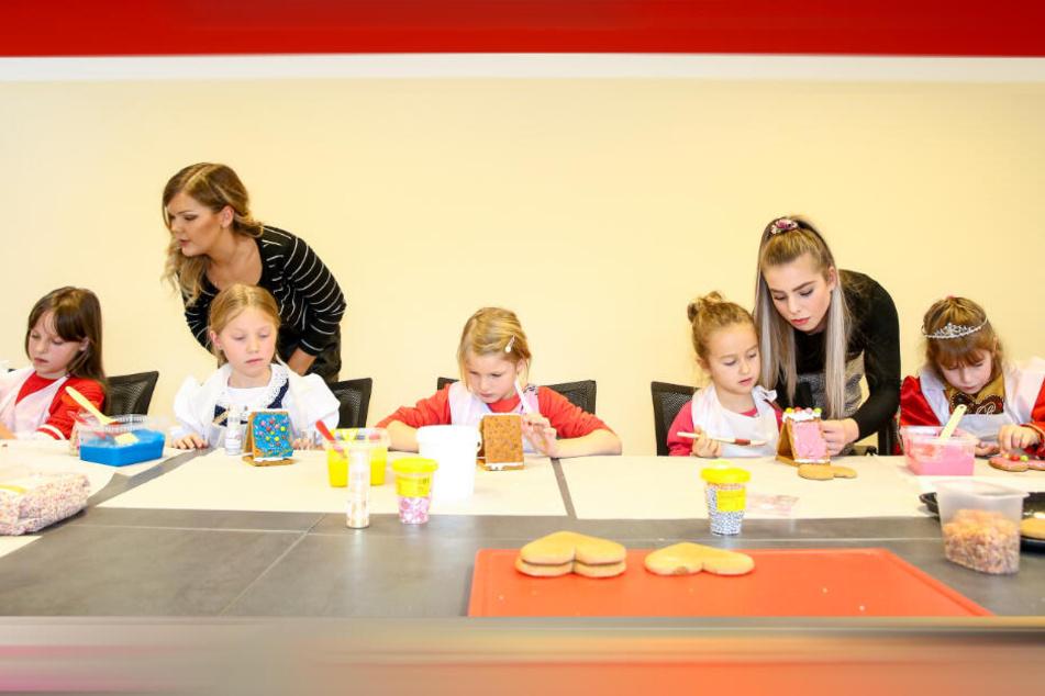 Beim Casting müssen die Mädchen auch beweisen, wie gut sie Pfefferkuchen verzieren können.