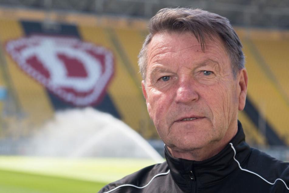 """Ist als Ehrenbürger im Gespräch: Dynamo-Legende """"Dixie"""" Dörner (69)."""