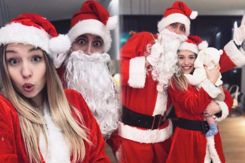 Alaaf! Bibi, Julian & das Baby sind schon voll im Weihnachtsfieber