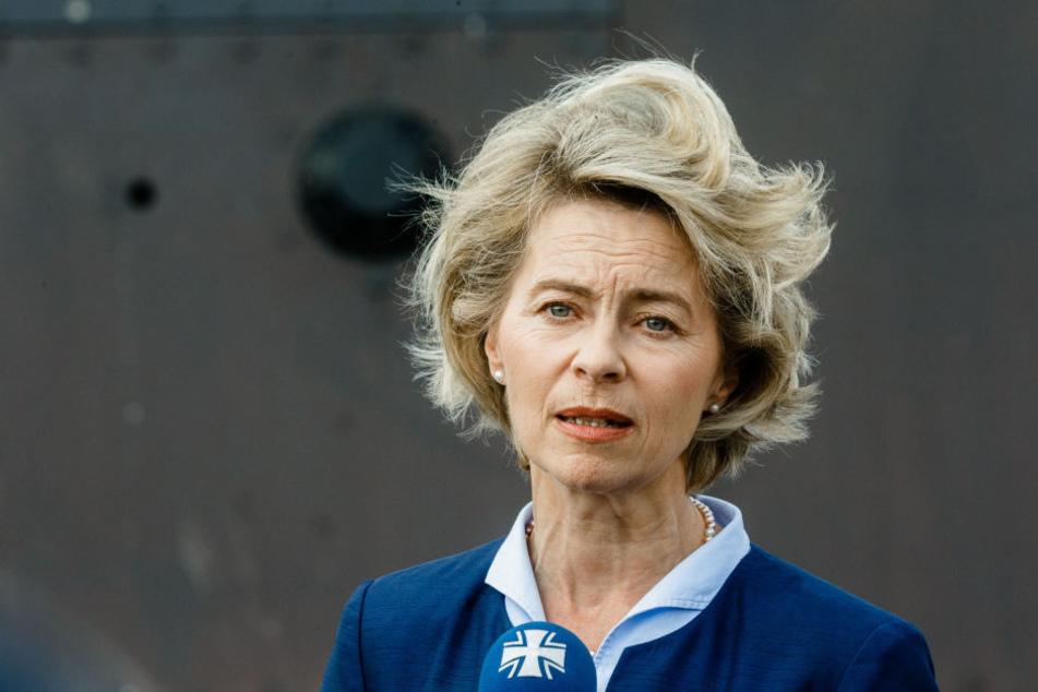 Verteidigungsministerin Ursula von der Leyen muss in dieser Woche den Abschlussbericht vorlegen.
