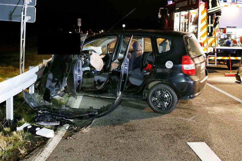Der 73-jährige Honda-Fahrer nahm einem Skoda offenbar die Vorfahrt.