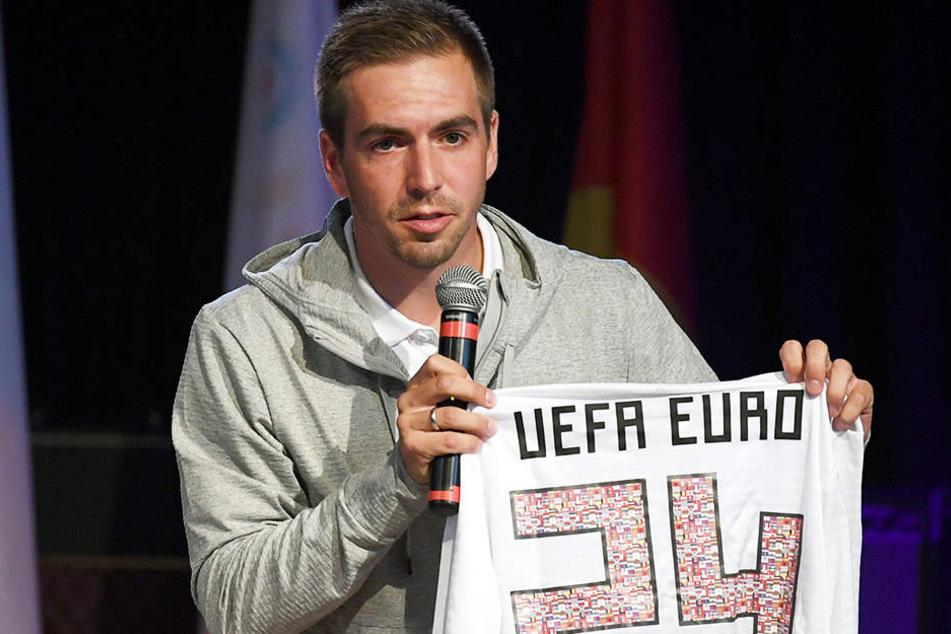 Er ist der DFB-Werbeträger für die EM 2024: Philipp Lahm.