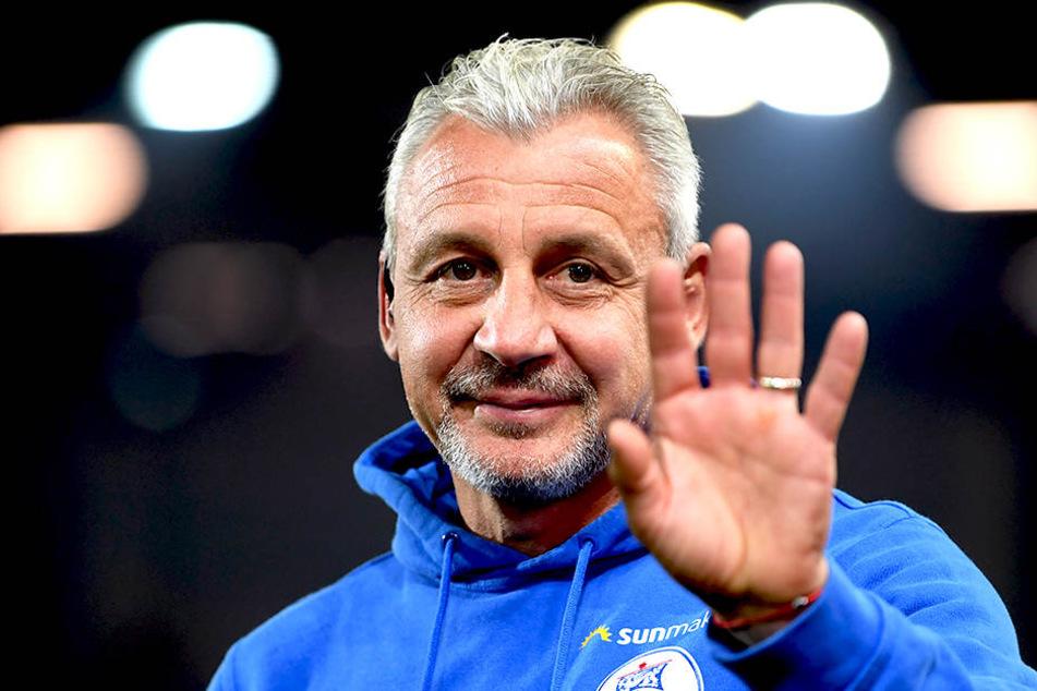 Pavel Dotchev (53) wurde nach der Hinrunde in Rostock gefeuert.