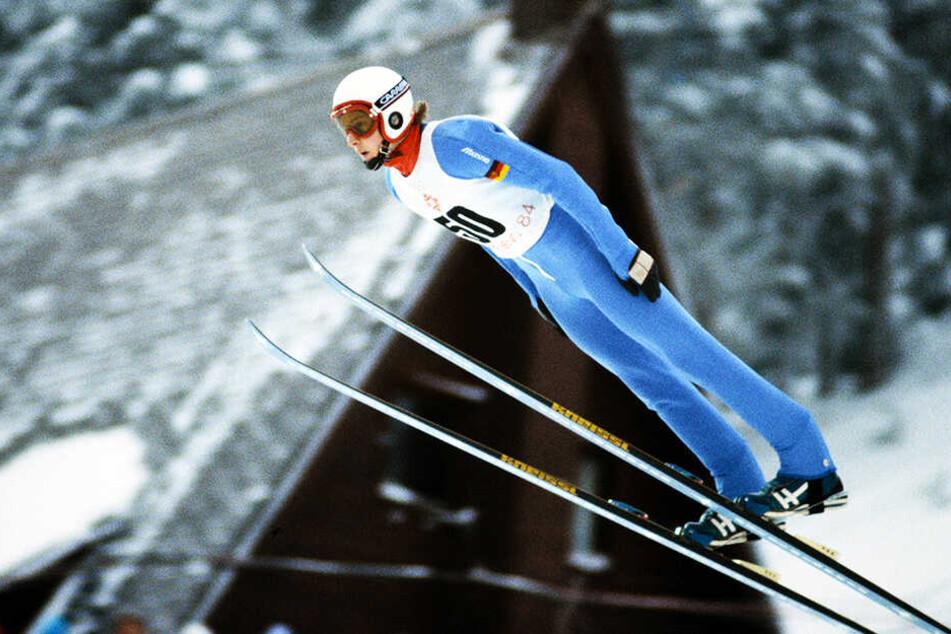 Auf der Schanze brach der Skispringer sämtliche Rekorde.