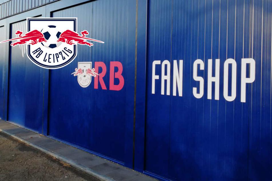 Fanshop von RB Leipzig besprüht, Mitarbeiter verfolgt Täter