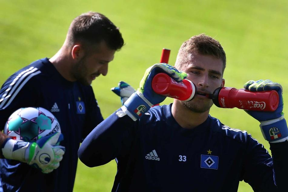 Beim HSV musste sich der heute 26-Jährige hinter Daniel Heuer Fernandes (28) anstellen.