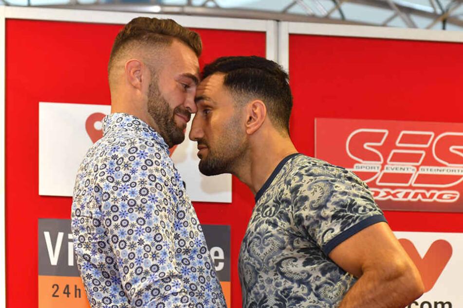 Bösel vs. Murat: Hitzige Show vorm EM-Fight