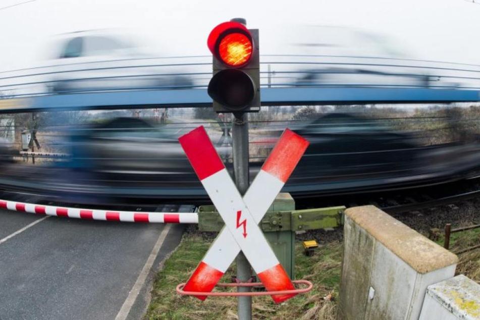 In Delitsch ist eine Person vom Zug erfasst und getötet worden (Symbolbild).