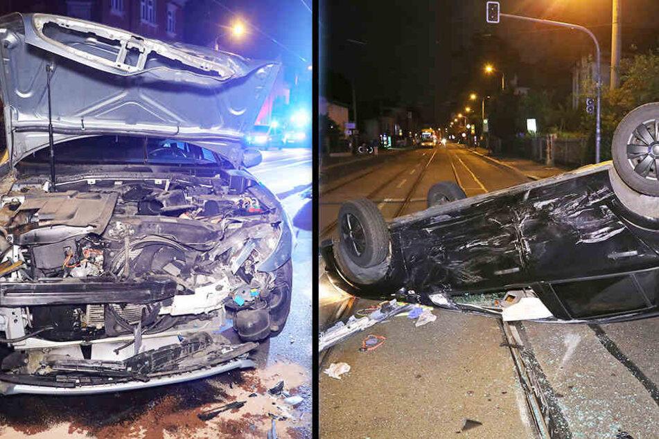 Fahrer missachtet Vorfahrt und kollidiert mit Opel: Fünf Verletzte