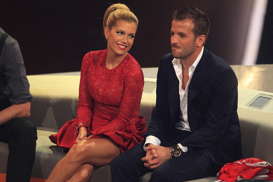 Sylvie und ihr Ex-Mann Rafael bei einem gemeinsamen Auftritt im Jahr 2012.