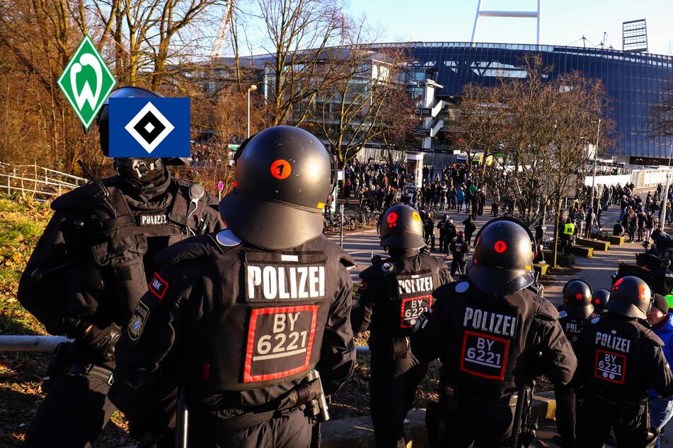 Risikospiel Werder gegen den HSV: Polizei bereitet sich auf Nordderby vor
