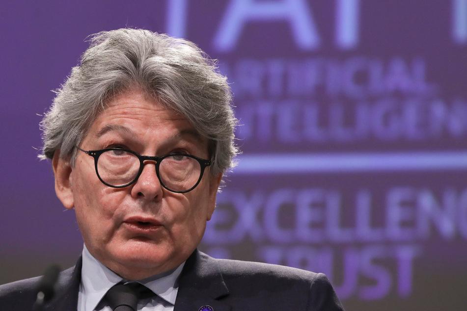 Thierry Breton , der für den Binnenmarkt zuständige EU-Kommissar.
