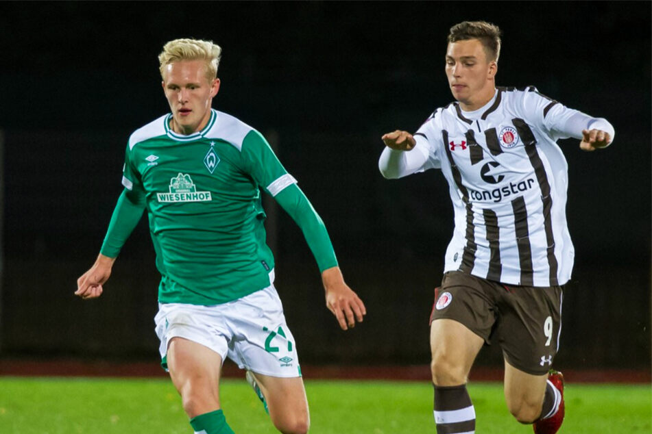 Bevor er sich dem Hamburger SV anschloss, lief Robin Meißner (r.) acht Jahre lang für dessen Stadtrivalen, den FC St. Pauli, auf. (Archivfoto)