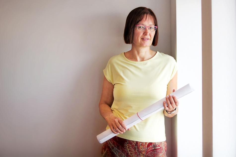 Klara Töpfer (55) leitet in Dresden das Amt für Geodaten und Kataster.