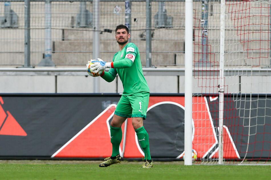 Keeper Johannis Brinkies bewahrte den FSV lange vor dem Rückstand.