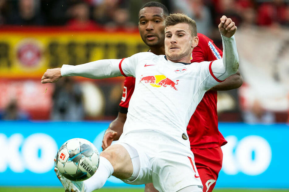Timo Werner (RB Leipzig) und Jonathan Tah (Bayer 04 Leverkusen) trennten sich im direkten Duell 1:1. Das Ergebnis half beiden Vereinen nicht wirklich weiter.
