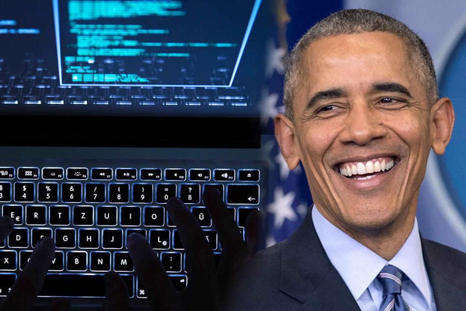 Obama soll den Cyberangriff auf Nordkorea befohlen haben.