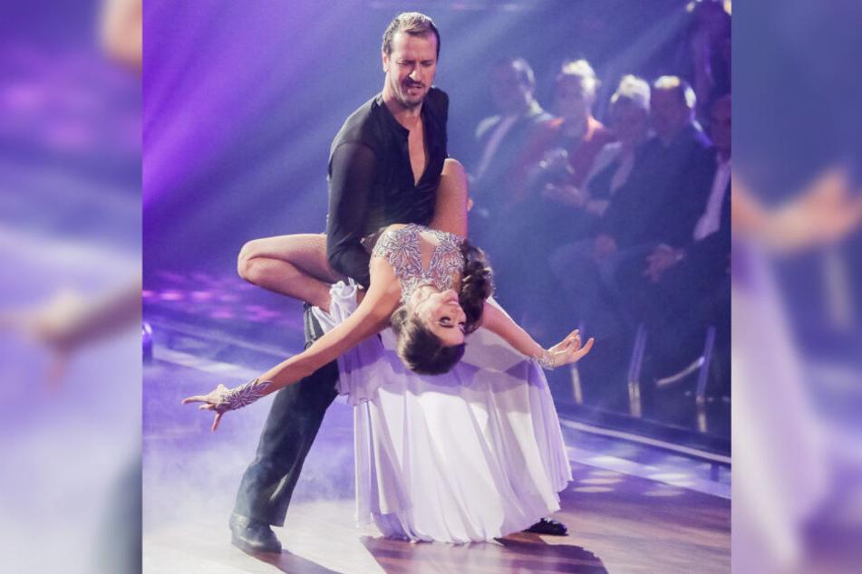 """In der Show """"Let's Dance"""" gelten Pascal Hens und Ekaterina Leonova inzwischen als Favoriten."""